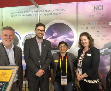Pawsey & NCI at eResearch Australasia 2018q