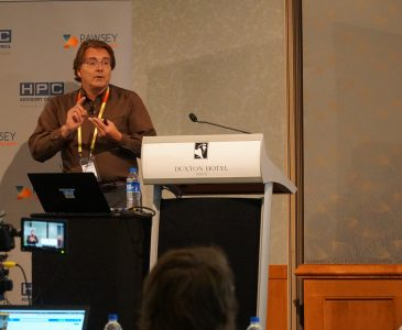 Rob Farber during his session 'AI is impacting HPC Everywhere'